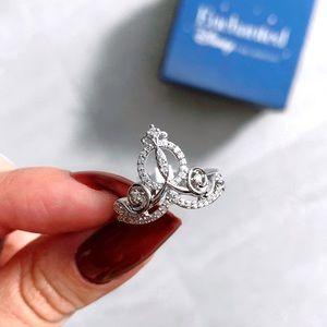 Disney Cinderella Enchanted Diamond Ring NWT 💍